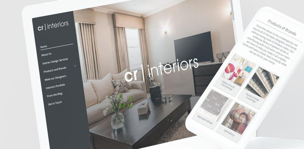 CR Interiors Responsive Web Design
