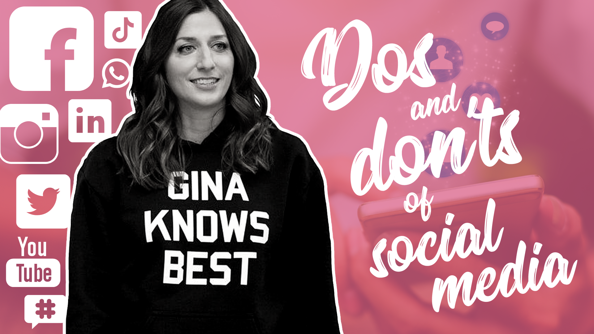 gina knows best for social media marketing